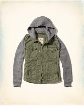 hol Hooded Twill Jacket