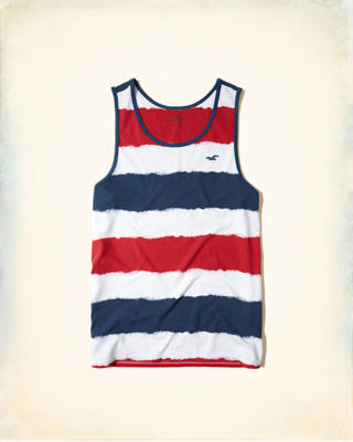 Stripe Icon Tank