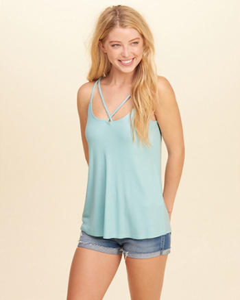 Strappy Scoop Cami