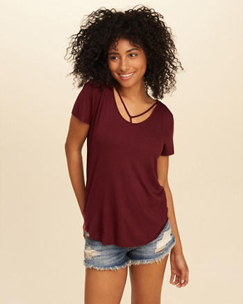 Must-Have Easy Strappy T-Shirt