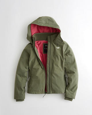Hollister All-Weather Stretch Fleece-Lined Jacket