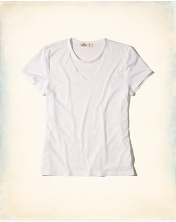 hol Cutout Choker T-Shirt