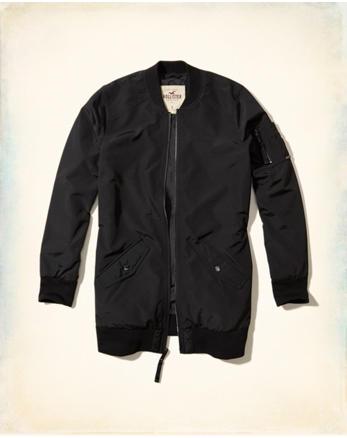 hol Longline Bomber Jacket