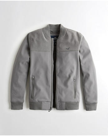 hol Fleece-Lined Bomber Jacket