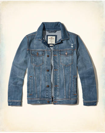 hol Stretch Denim Jacket