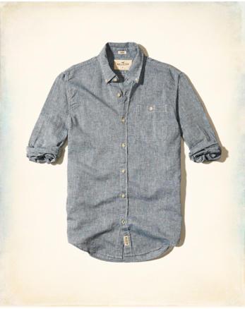 hol Textured Linen Shirt