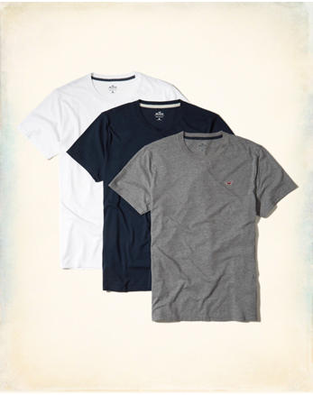 hol Must-Have Crewneck T-shirt Multipack