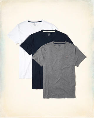 Must-Have V-Neck T-Shirt Multipack