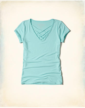 hol Must-Have Strappy T-Shirt