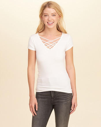 Must-Have Strappy T-Shirt