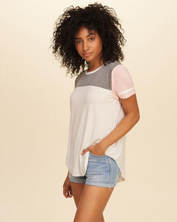 Must-Have Easy Colorblock T-Shirt