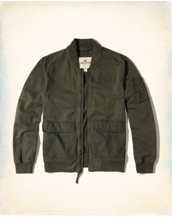 hol Military Bomber Jacket