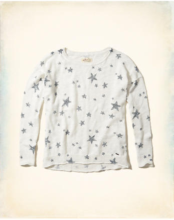 hol Patterned Crewneck Sweater