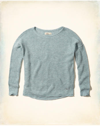 hol Textured Crewneck Sweater