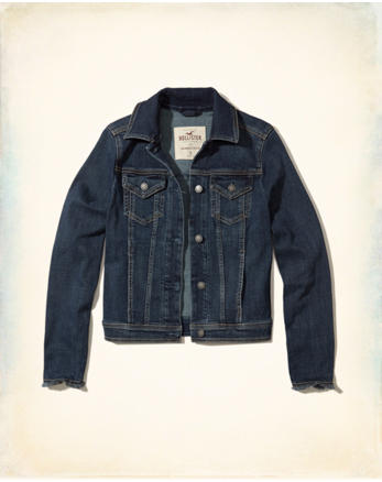 hol Dark Wash Denim Jacket