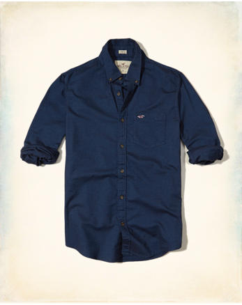 hol Stretch Oxford Shirt