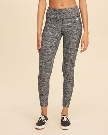 High-Rise Ankle-Length Active Leggings
