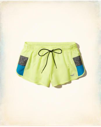 hol Nylon Running Shorts