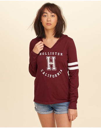 hol Hooded Graphic Tee