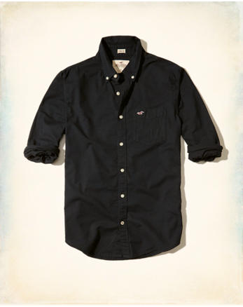 Stretch Oxford Shirt