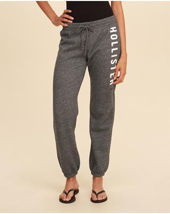 hol Logo Banded Sweatpants