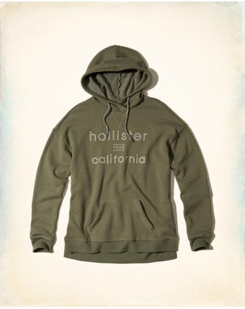 hol Oversized Logo Hoodie