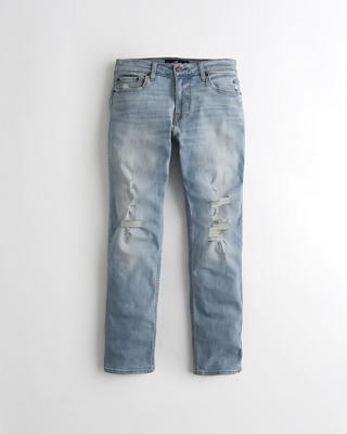 Advanced Stretch Slim Straight Jeans