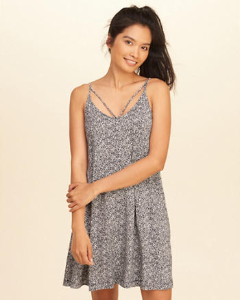 Strappy Swing Dress