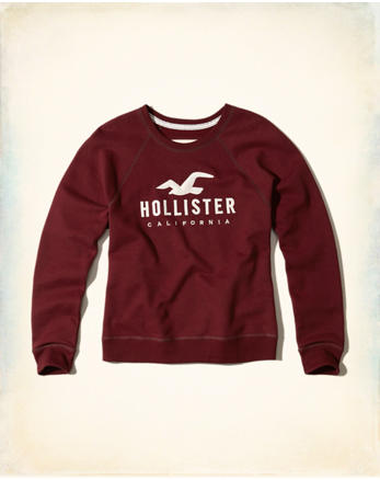 hol Graphic Crewneck Sweatshirt