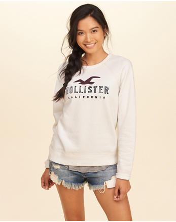 hol Graphic Crewneck Sweatshirt