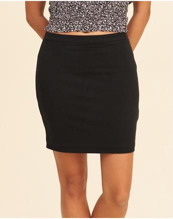 hol Knit Bodycon Skirt