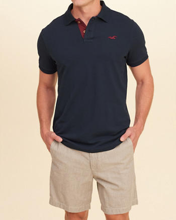 Stretch Pique Icon Polo