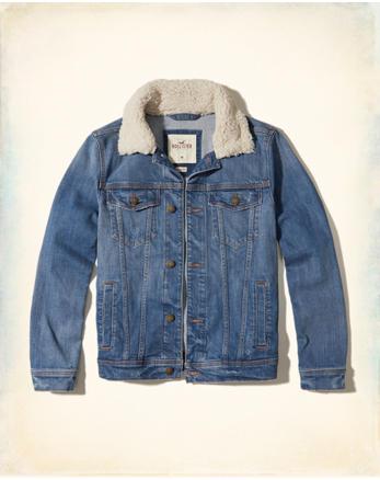 hol Sherpa Trucker Jacket