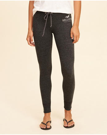 79904bb9dc6d8e High-Rise Fleece Leggings, DARK GREY SD/TEXTURE