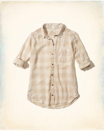 hol Burnout Button-Front Shirt