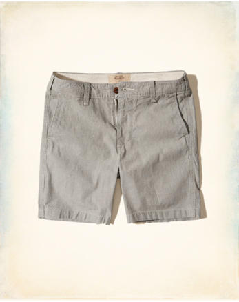 hol Beach Prep Fit Chambray Shorts