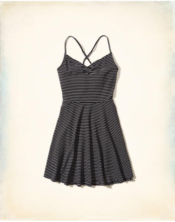 hol Knit Skater Dress