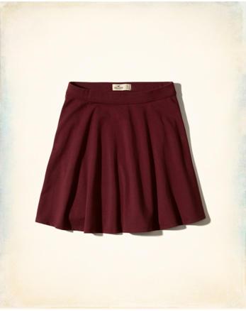 hol Knit Skater Skirt