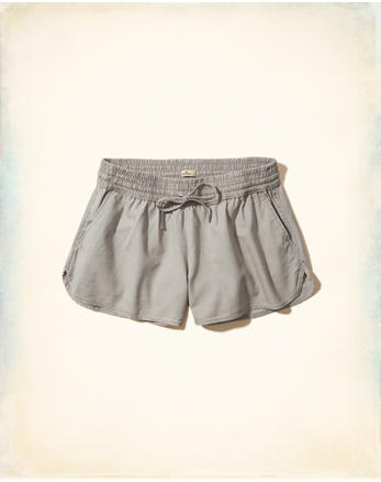 hol Curved Hem Twill Shorts