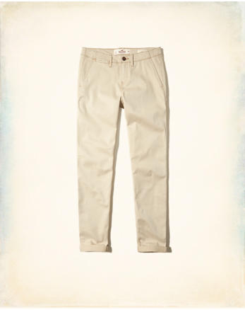 hol Low-Rise Chino Pants