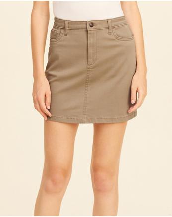 hol Twill Skirt