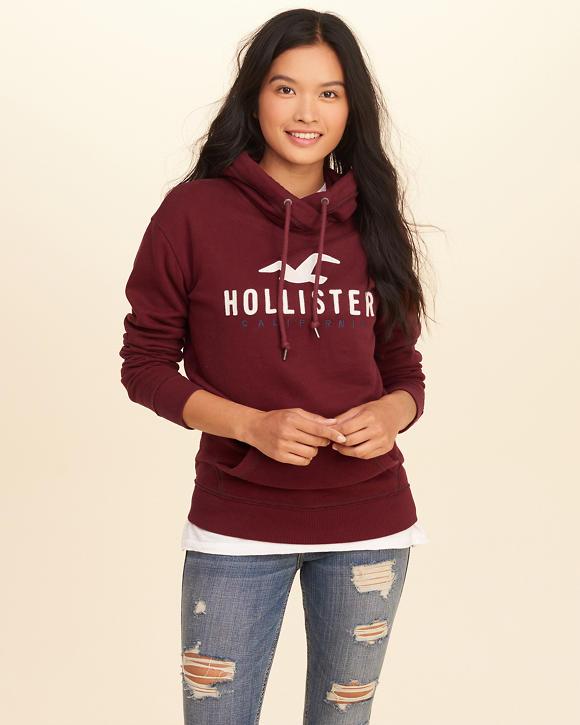 hoodies amp sweatshirts for girls hollister co