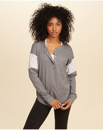 hol Must-Have Oversized Henley
