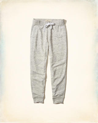 Textured Fleece Joggers