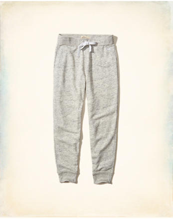 hol Textured Fleece Joggers