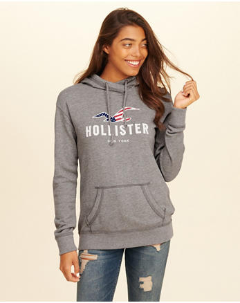 hol New York Logo Graphic Hoodie