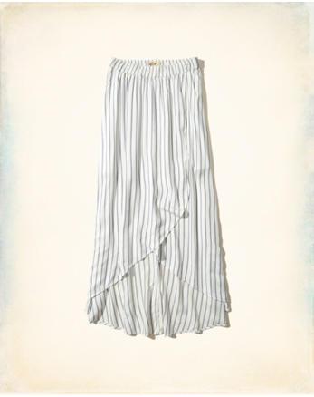 hol Wrap Maxi Skirt