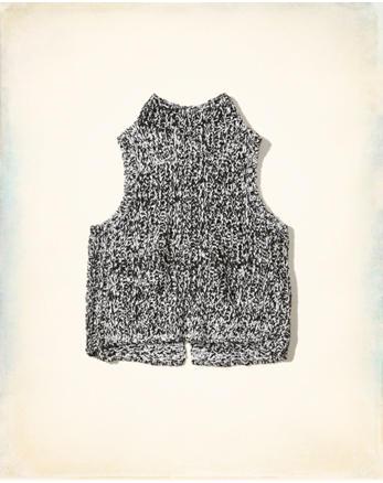 hol Mockneck Sweater Tank