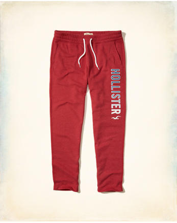hol Graphic Straight-Leg Sweatpants