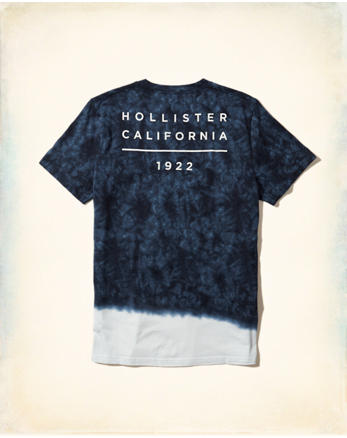hol Tie-Dye Graphic Tee